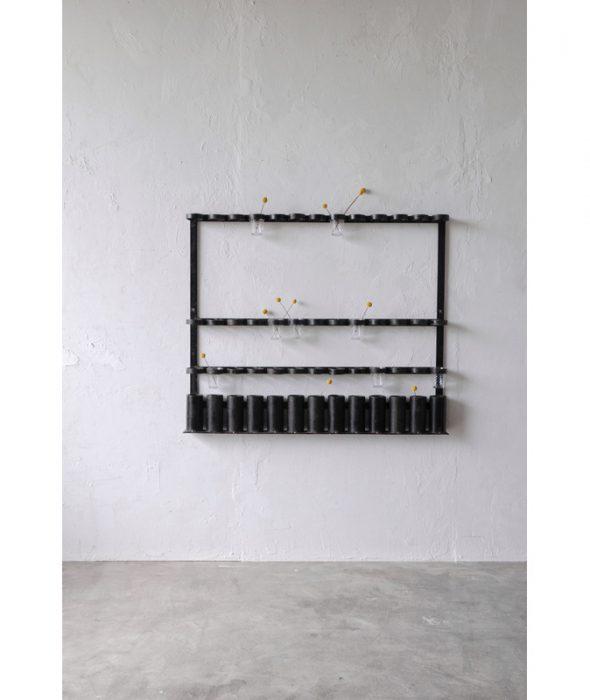 industrial iron shelf
